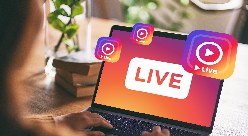How to go live on Instagram on a computer
