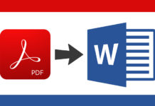 How to insert a PDF into a Word document