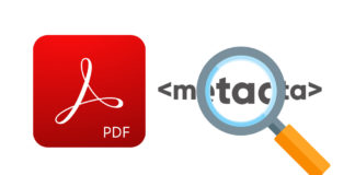 How to remove metadata from PDF