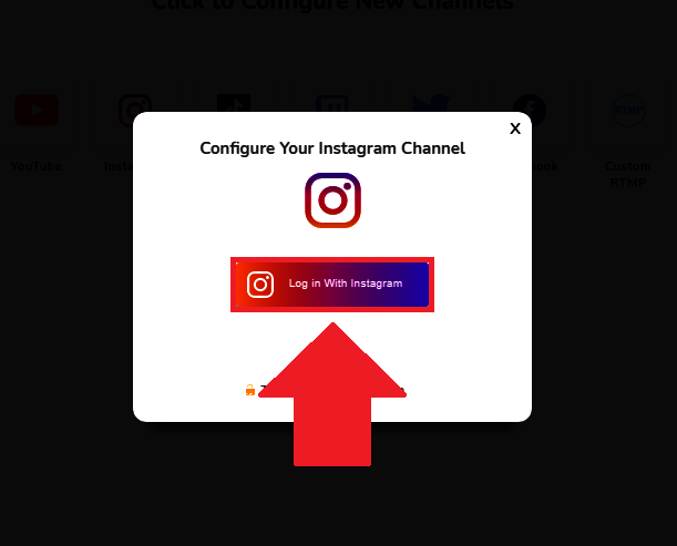 Loola Log in with Instagram