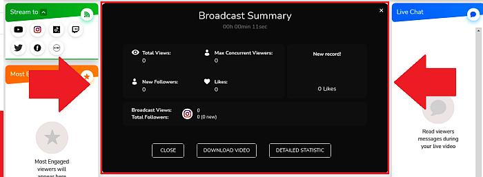 Loola broadcast summary