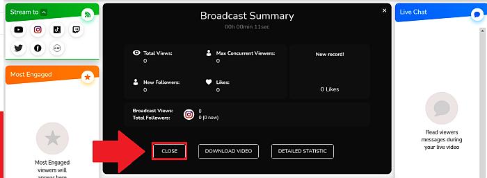 Loola close broadcast summary