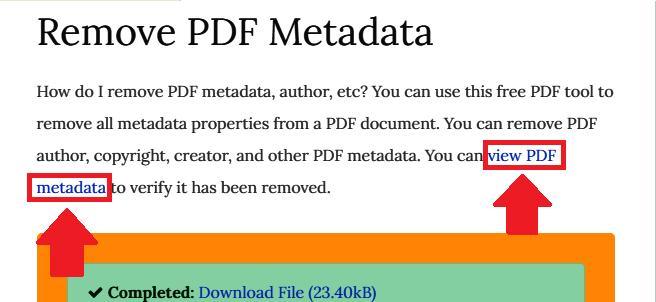 PDFYeah View PDF metadata