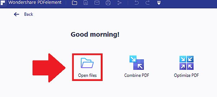 Convert PDF to Word Doc in PDF Element