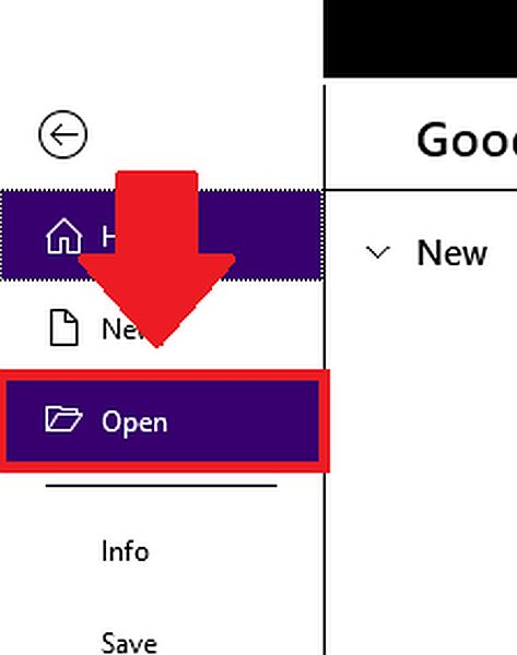 Opening PDF File in Word