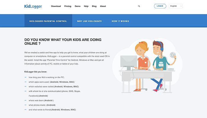 Best Free mSpy Alternatives-Kidlogger.net