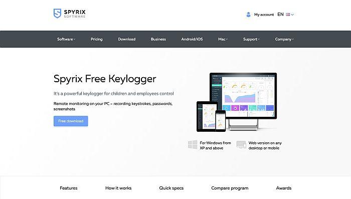 Best Free mSpy Alternatives- Spyrix Keylogger Free