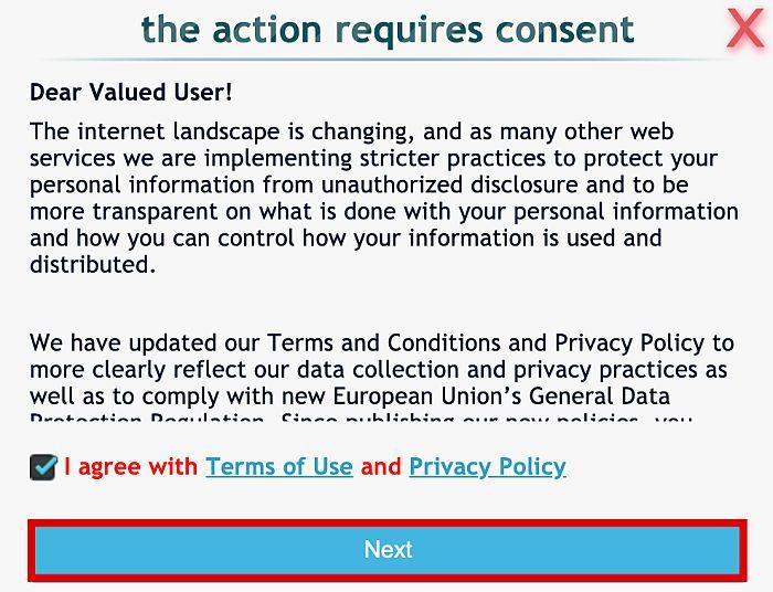 IP Logger URL Shortener Consent Form