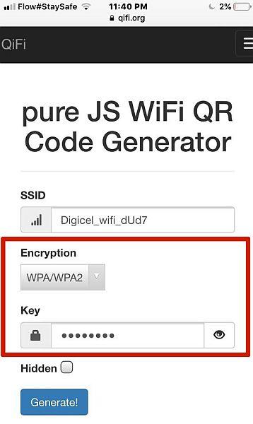 Qifi Wifi Key