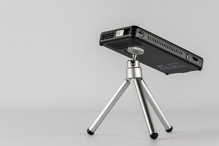 Prima Projector on a tripod