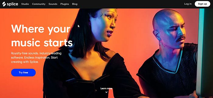 Splice Home Page