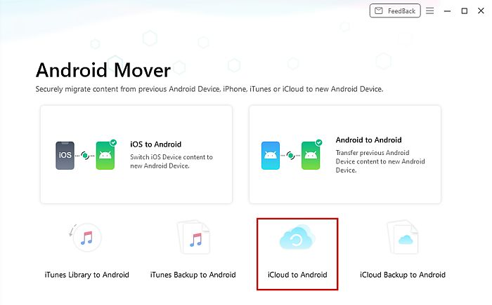 AnyDroid Android Mover Panel