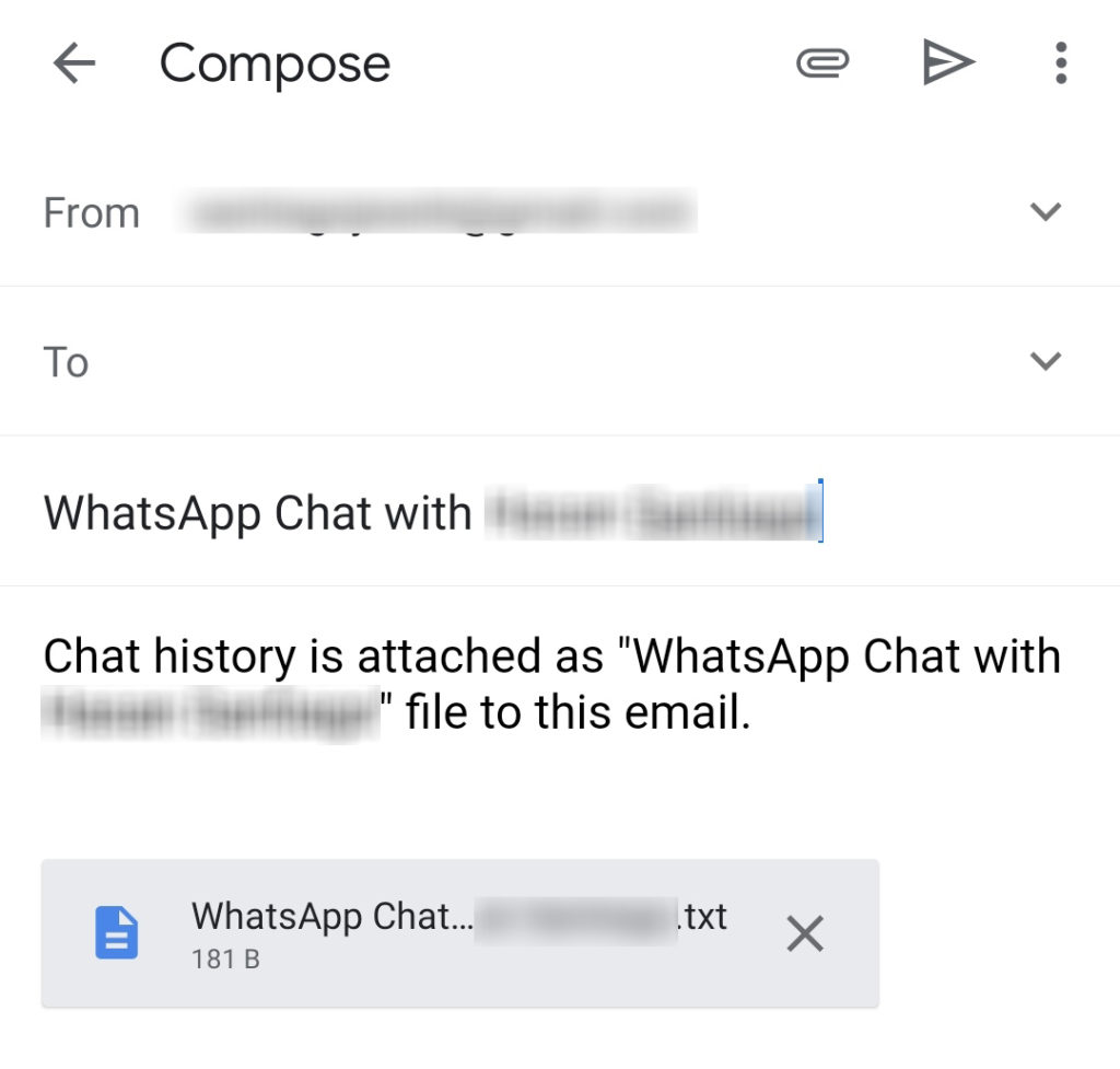 Email App Compose Panel