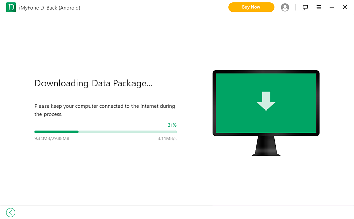 iMyFone D-Back App Downloading Data Package