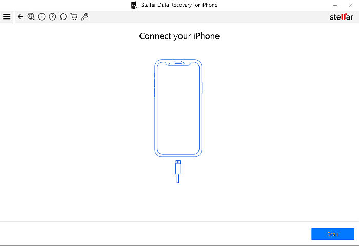 Stellar Data Recovery for Iphone Connect Your Iphone Page