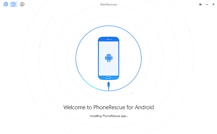 Phone Rescue App Installation Page