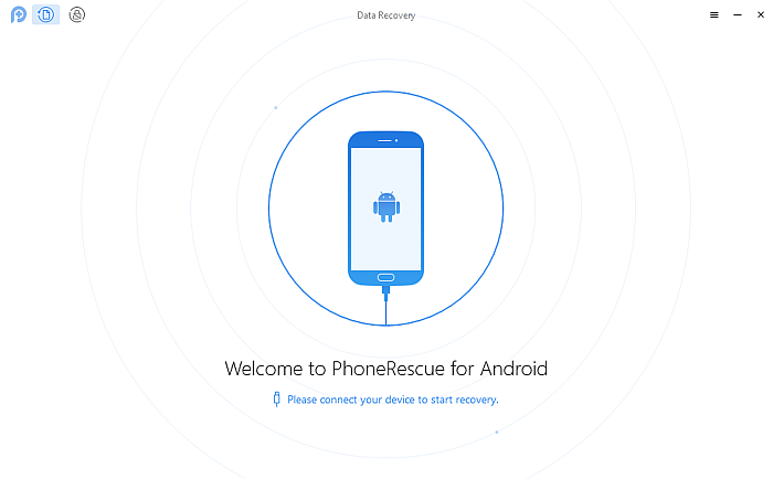 Phone Rescue Homepage