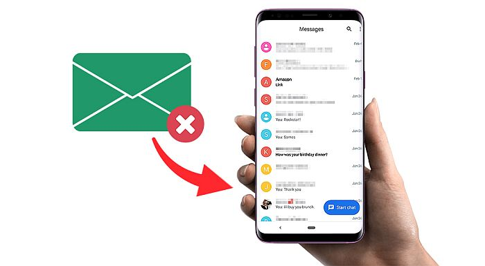 How To Retrieve Deleted Text Messages Android Without Computer In 4 Ways