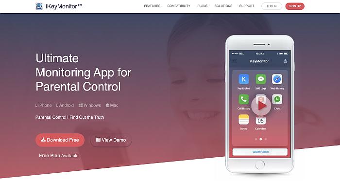 ikeymonitor home page